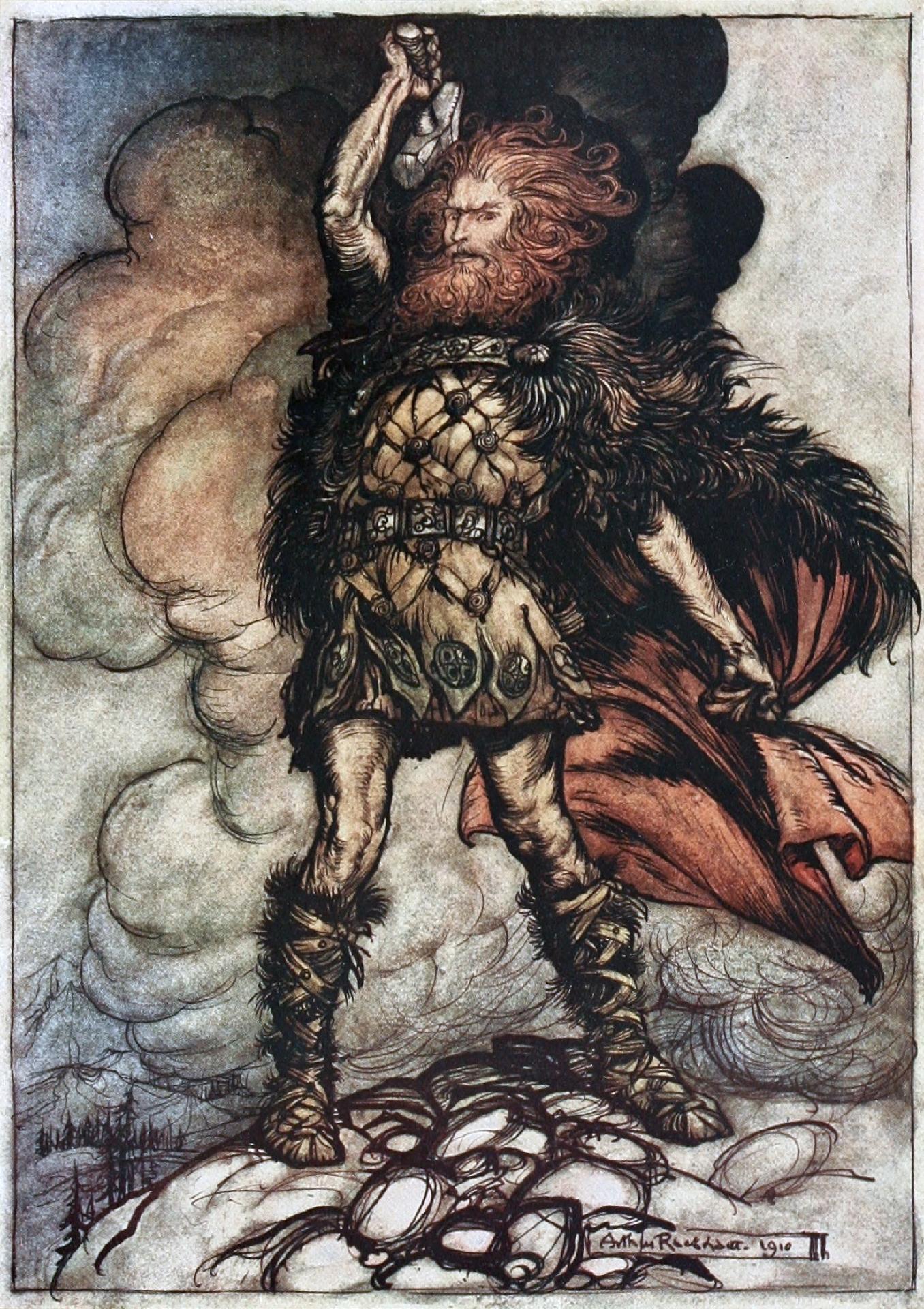 Os 12 principais deuses da mitologia nórdica