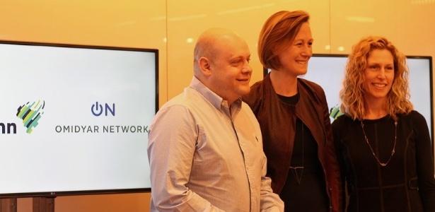 Representantes da Fundação Lemann e Omidyar Networks anunciaram investimento em tecnologias de educação no Brasil