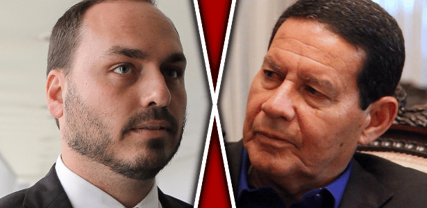 Josias de Souza | Carlos Bolsonaro vê Mourão como candidato ao trono