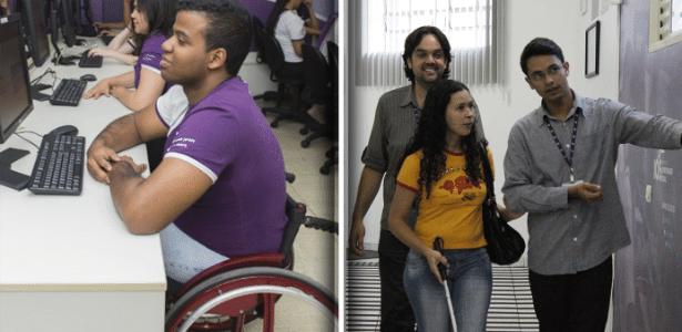 Instituto oferece cursos para deficientes com mais de 16 anos de idade
