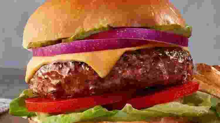 Hamburger da Beyond Meat - Divulgação