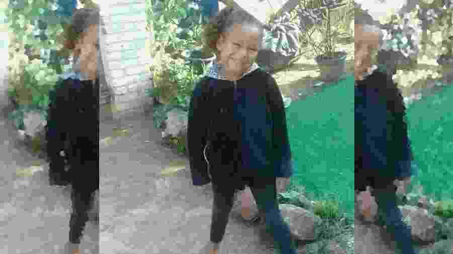 Kauane Cristhiny Rodrigues tinha 6 anos - Arquivo de família