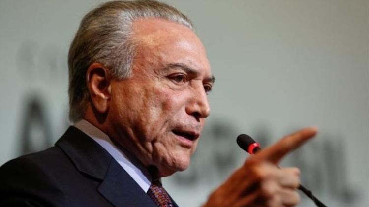 Conversa de Michel Temer e Joesley Batista vazou dias antes de denúncia sobre sítio de Atibaia - Alan Santos/PR