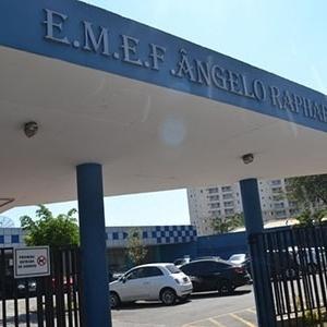 A E.M.E.F. Ângelo Raphael Pellegrino fica em São Caetano do Sul (SP) e causou polêmica com restrição a alunas - Guilherme Guilherme/RRO
