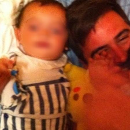 O pai Jose Roselló, com Julen, desaparecido desde o último dia 13 - Reprodução/Facebook