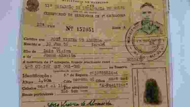 José Vieira é filho de agricultor morto pelas forças militares durante a guerra no Araguaia; ele foi preso e depois incorporado ao Exército - EDUARDO REINA/DIVULGAÇÃO - EDUARDO REINA/DIVULGAÇÃO