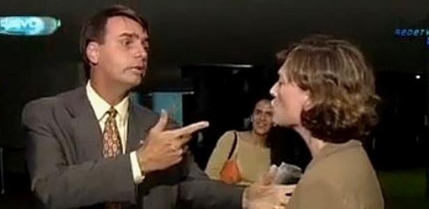 Discussão entre Bolsonaro e Maria do Rosário