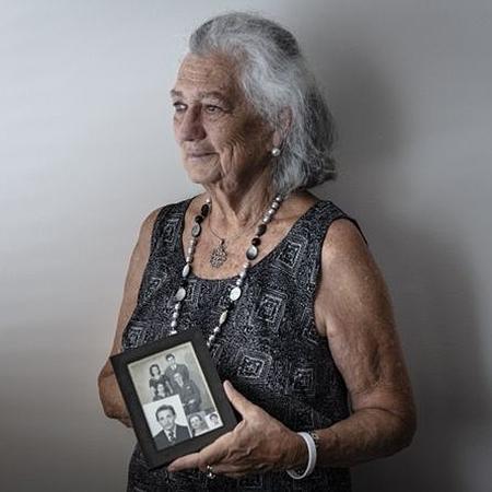 A judia italiana naturalizada brasileira Ariella Pardo Segre tinha três anos quando fugiu da perseguição nazista - GUI CHRIST