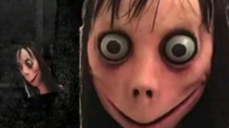 Momo, a boneca que surgiu no WhatsApp e passou a propor desafios - Reprodução/Twitter