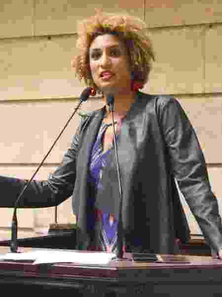 Marielle Franco na Câmara Municipal do Rio de Janeiro - Renan Olaz/CMRJ