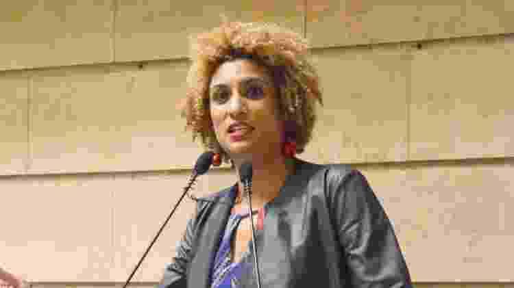 A vereadora Marielle Franco foi assassinada a tiros em 14 de março de 2018 - Renan Olaz/CMRJ