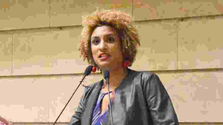 Vereadora Marielle Franco na Câmara Municipal do Rio de Janeiro - Renan Olaz/CMRJ