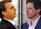 Para eleitores, Bolsonaro é quem mais defende os ricos e Haddad, os pobres (Foto: Aloisio Mauricio/Fotoarena/Estadão Conteúdo - Roberto Casemiro/Estadão Conteúdo / Montagem BOL)