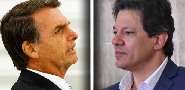 Resultado de imagem para A pesquisa tem margem de erro de 2 pontos para mais ou para menos.  Nos votos válidos, os resultados foram os seguintes:  Jair Bolsonaro (PSL): 57% Fernando Haddad (PT): 43%