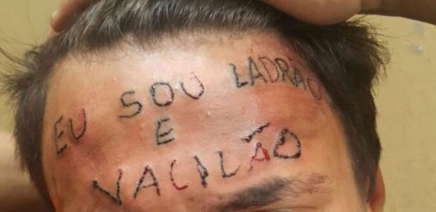 Adolescente tem testa tatuada após ser acusado de roubo em São Bernardo do Campo, na Grande São Paulo