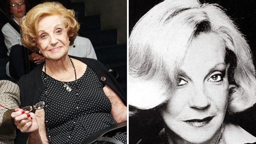 A atriz Márcia Real, 88, morreu nesta sexta (15) - Divulgação