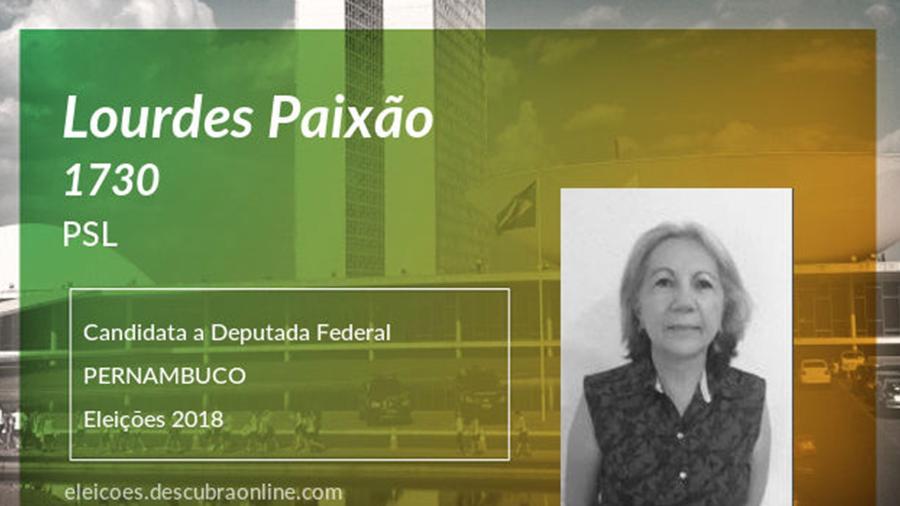 Maria de Lourdes de Paixão - Reprodução/Descubra Online