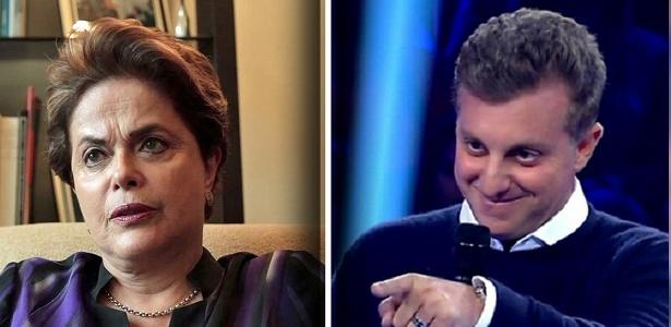 Resultado de imagem para Dilma ironiza 'política de Luciano Huck