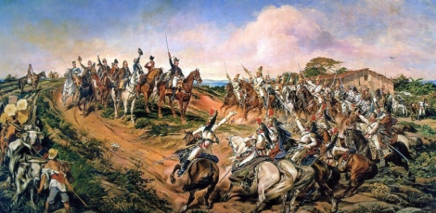 Independência ou Morte foi pintado por Pedro Américo entre 1886 e 1888 - Reprodução/Wikimedia Commons