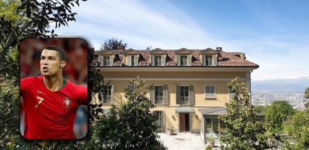 A mansão de Cristiano Ronaldo na Itália