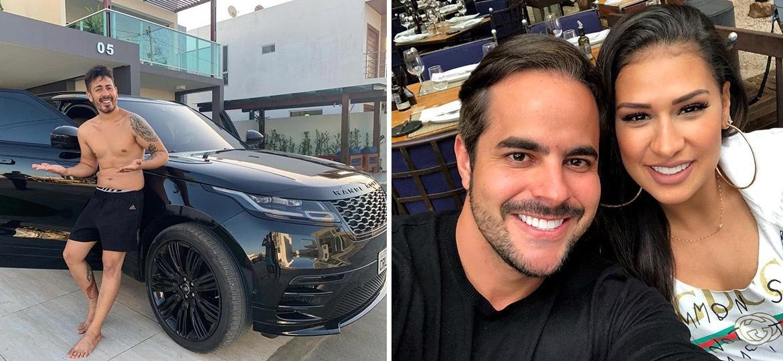 Carlinhos Maia ganha carro de luxo blindado de marido de Simone