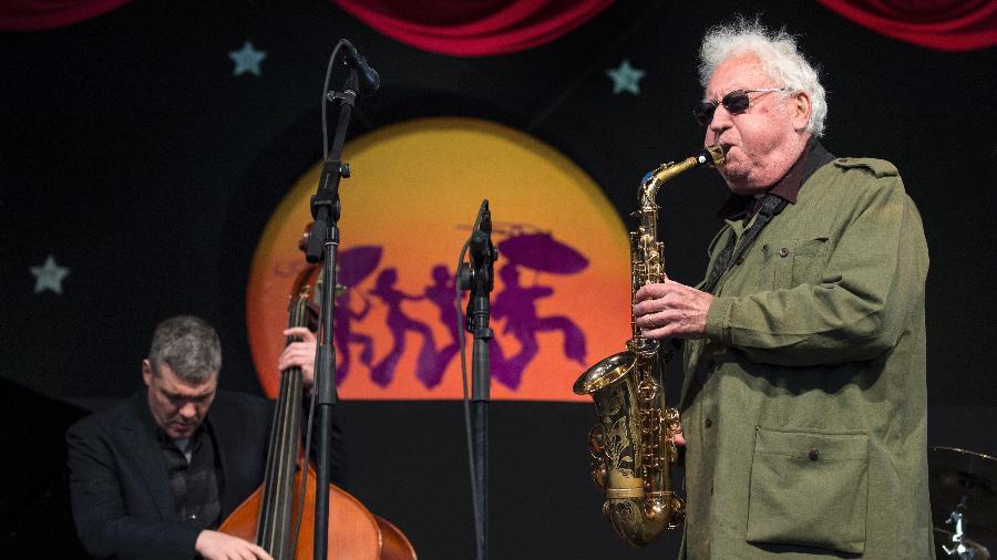 Lee Konitz participou de mais de 150 discos em sua carreira - Erika Goldring/Getty Images