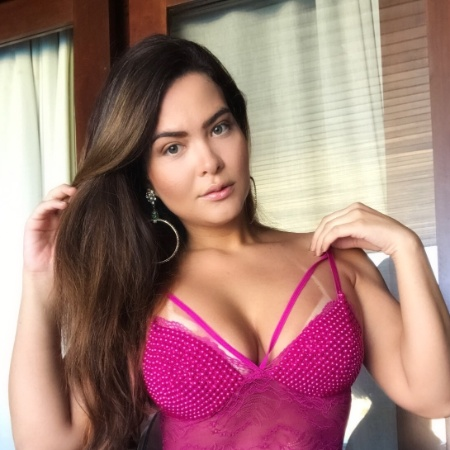 6.jun.2018 - Geisy Arruda posa para ensaio de lingerie - Divulgação/CG Comunicação