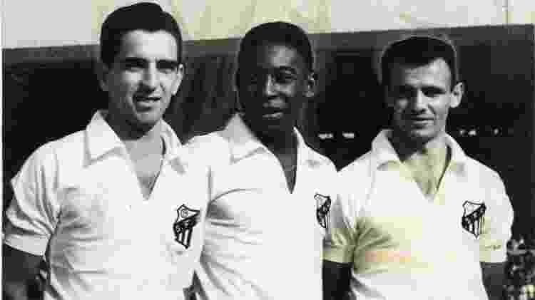Pagão, Pelé e Pepe no Santos - Folhapress