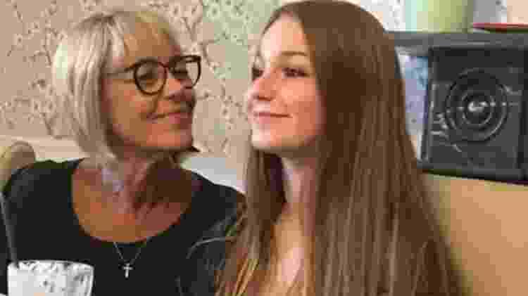 Annabelle e a mãe - Reprodução/BBC - Reprodução/BBC