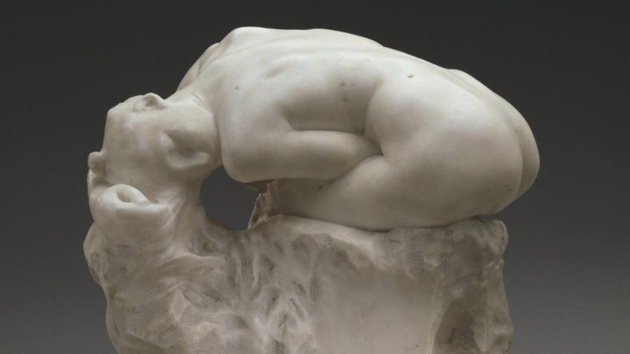 """Estátua """"Andrômeda"""", de Auguste Rodin (1840-1917) - Divulgação"""