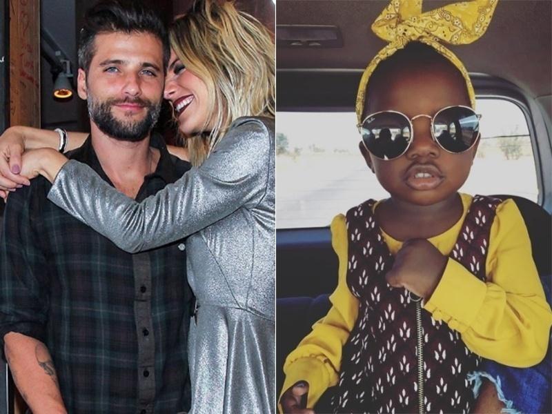 7.jul.2016 - Bruno Gagliasso e Giovanna Ewbank adotaram uma menina que veio do Malaui, na África, segundo confirmou  assessoria de imprensa do casal nesta quinta (7).