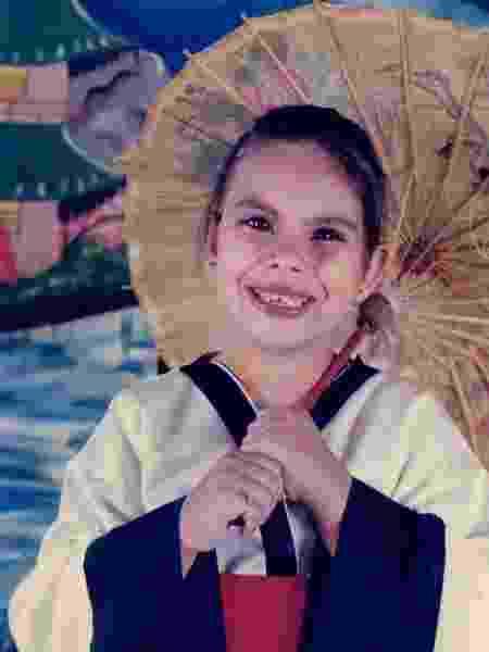 A primeira cirurgia de Carla foi aos 9 anos de idade - Arquivo Pessoal