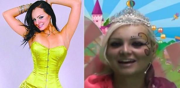 """11.set.2013 - A modelo Suelem Aline Mendes da Silva, cujo nome artístico até então era Mulher Pêra, agora comanda um programa infantil intitulado """"Fadinha do Brasil"""""""