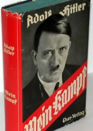 """Uma das edições de """"Mein Kampf"""" - Divulgação"""
