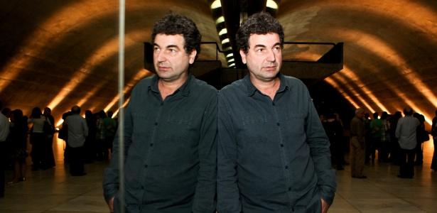 2.nov.2013 -  Paulo Cesar de Araújo, historiador e escritor de biografias, no auditório Simón Bolívar do Memorial da América Latina, em São Paulo (SP) - Bruno Poletti/folhapress