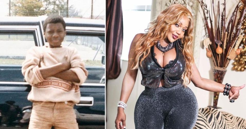 13.Set.2014 - Tatiana Williams é comparada a Nicki Minaj graças ao bumbum vantajoso