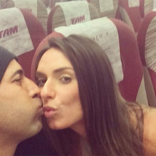 17.set.2014 - Nicole chegou a publicar uma série de fotos com Sheik no Instagram, mas apagou tudo um dia depois, dizendo que o namoro acabou