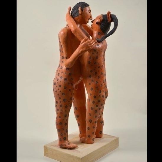7.out.2014 - Até algumas décadas atrás, não se abordava abertamente o tema do erotismo na época pré-colonização. Até o Museu Nacional de Antropologia, o maior do país, tinha uma 'sala secreta' onde expunha peças vinculadas ao tema