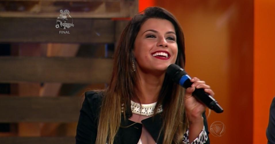 """10.dez.2014 - Babi Rossi é uma das finalistas de """"A Fazenda 7"""""""