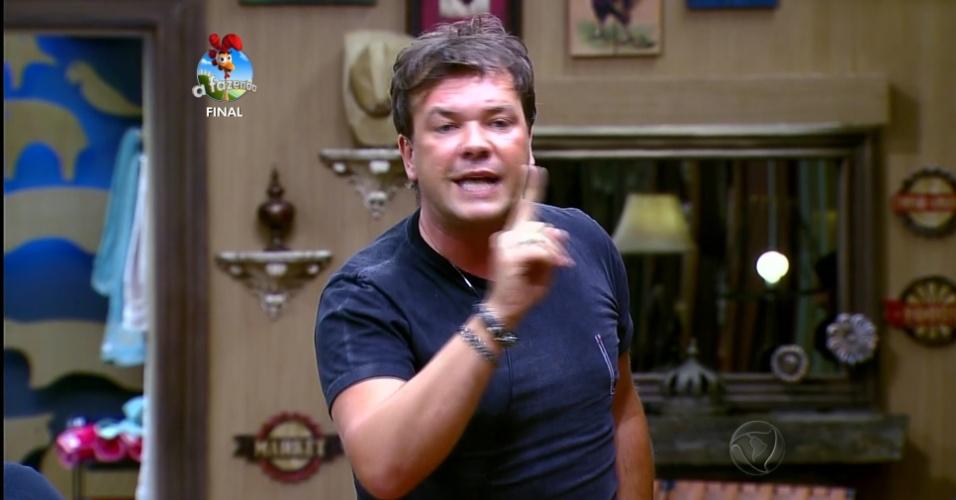 10.dez.2014 - Felipeh Campos protagonizou boa parte dos barracos do programa