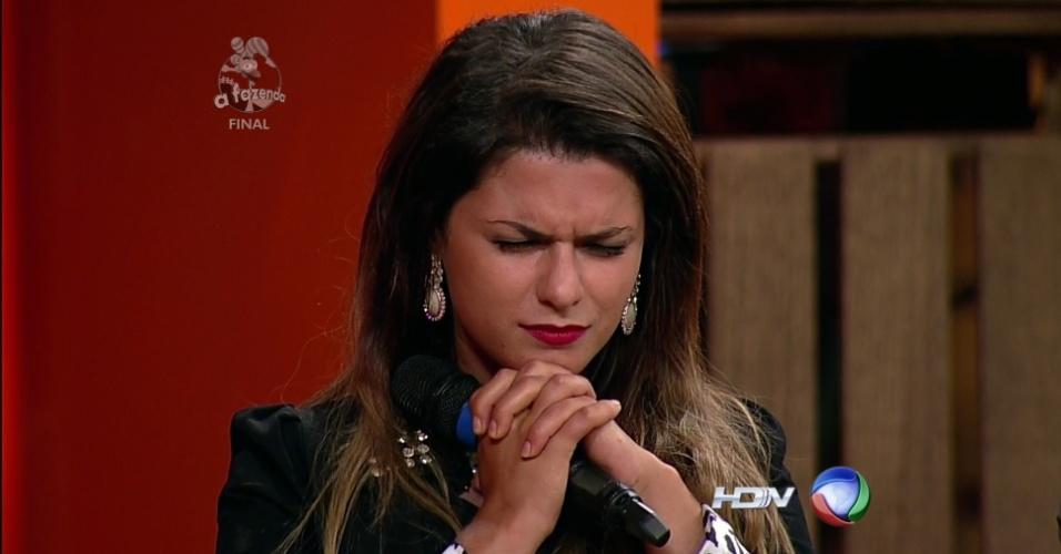 """10.dez.2014 - Babi Rossi fica com o segundo lugar em """"A Fazenda 7"""""""