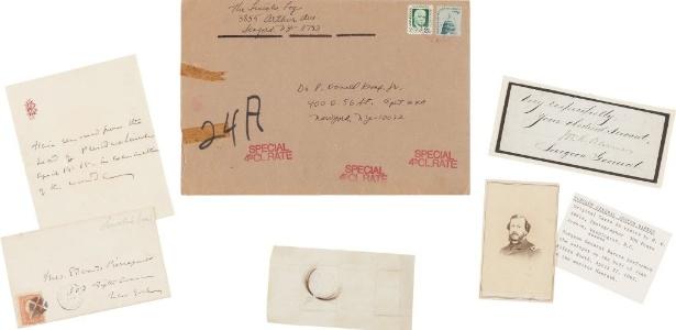 Objetos de Abraham Lincoln que vão a leilão nos EUA incluem mecha de cabelo -  Heritage Auctions