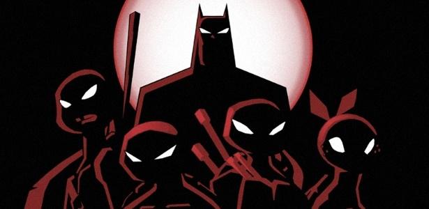 O Homem-Morcego vai precisar da ajuda das Tartarugas para salvar o dia mais uma vez - Divulgação