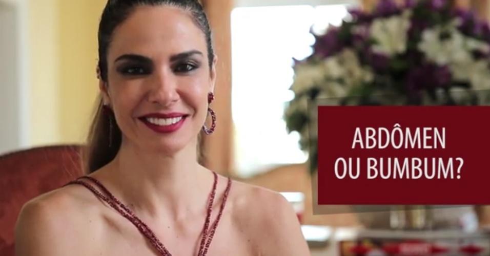 """Luciana Gimenez no """"Pensa Rápido"""""""