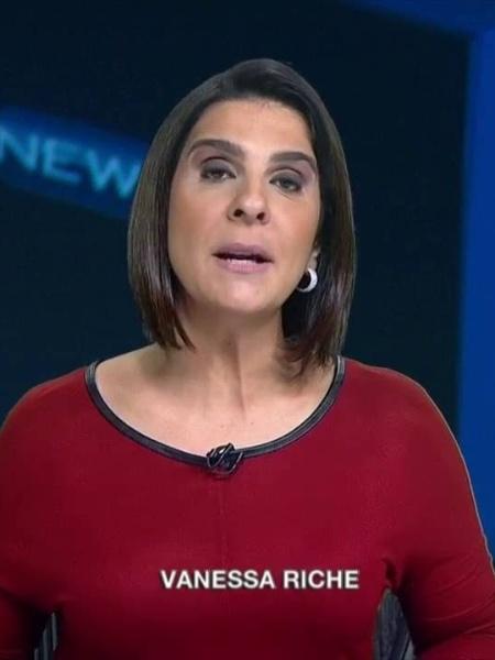 Vanessa Riche, do Sportv - Reprodução Sportv