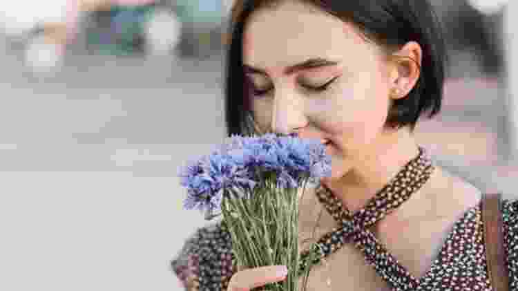 Olfato, cheiro, flor - Freepik - Freepik