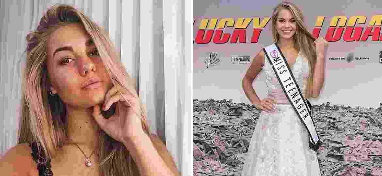 Lotte van der Zee morreu um dia antes de completar 20 anos. Em 2017, ela foi Miss Teen Universo - Reprodução/Instagram