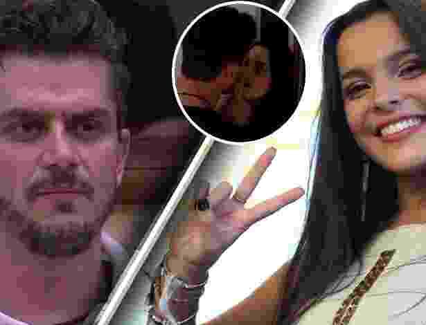 Montagem BOL / Reprodução/Globo
