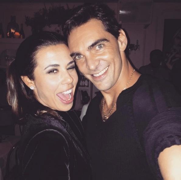 Maria Luiza Daudt e Giba em foto postada no Instagram