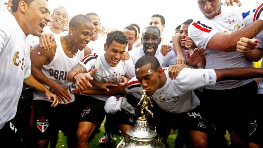 São Paulo conquistou o hexa do Campeonato Brasileiro em 2008 - Almeida Rocha / Folhapress